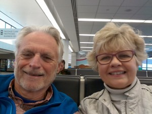 Marilyn and Bill off to Arizona